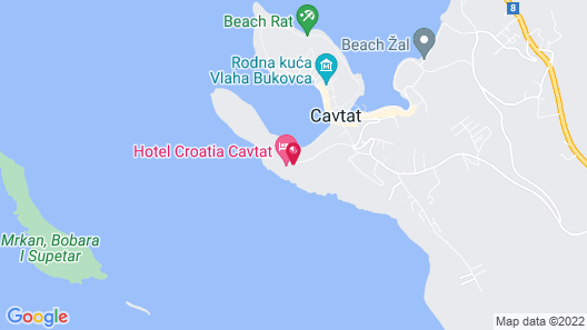 Hotel Croatia Map