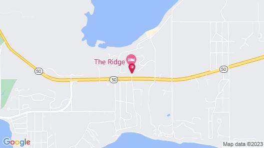 The Ridge Hotel Map