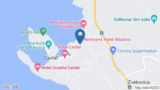 Remisens Hotel Albatros Map