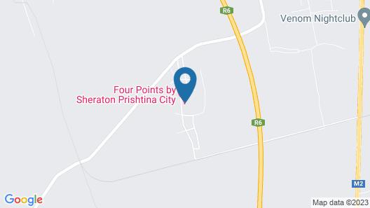Four Points by Sheraton Prishtina City Map