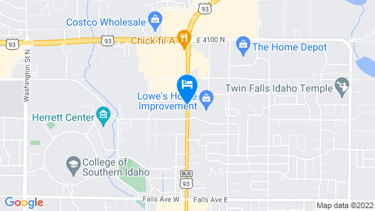 Red Lion Hotel Twin Falls Map