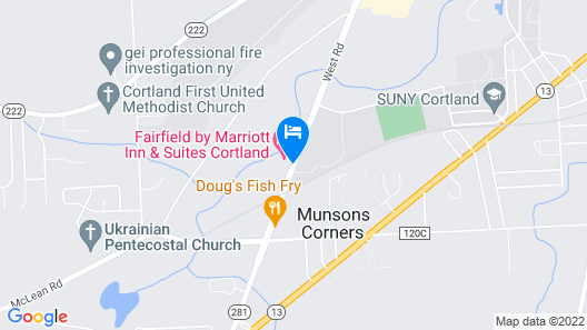 Country Inn & Suites by Radisson, Cortland, NY Map