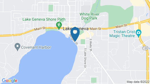 Harbor Shores on Lake Geneva Map