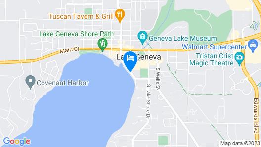 Harbor Shores on Lake Geneva Map