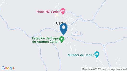 Evenia Monte Alba Map