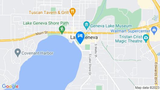The Cove Of Lake Geneva Map