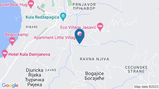 Eko Village Jasavic Map