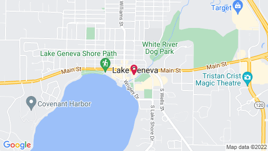 Mill Creek Hotel Map