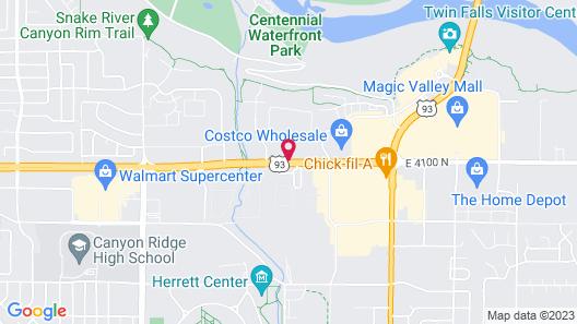 La Quinta Inn & Suites by Wyndham Twin Falls Map