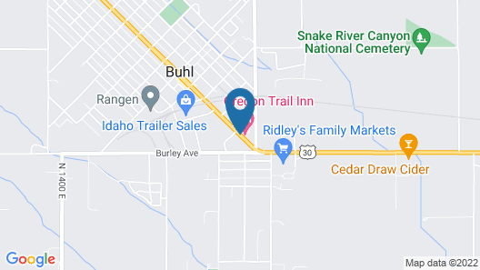 Oregon Trail Inn Map