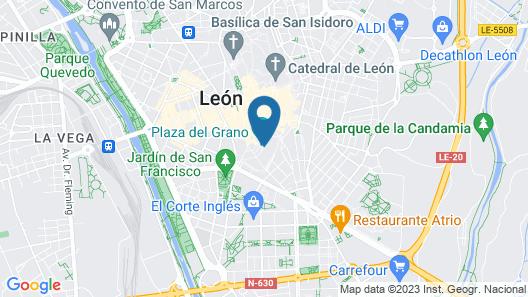 Hospedería Monástica Pax Map