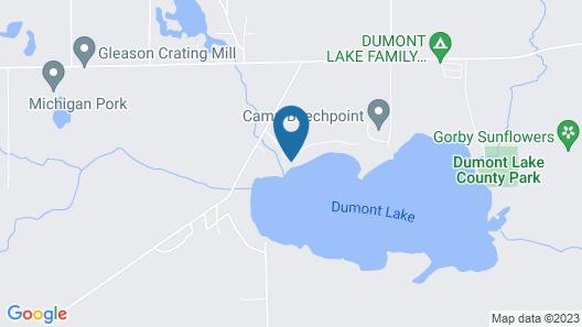 Treloar Lakeside Cottage Map