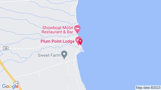Plum Point Lodge Map