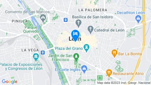 Zentric Hostel Map