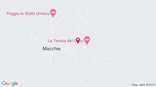 Relais Tenuta del Gallo Map