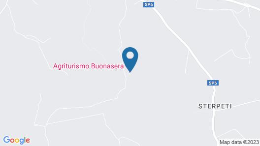 Agriturismo Buonasera Map