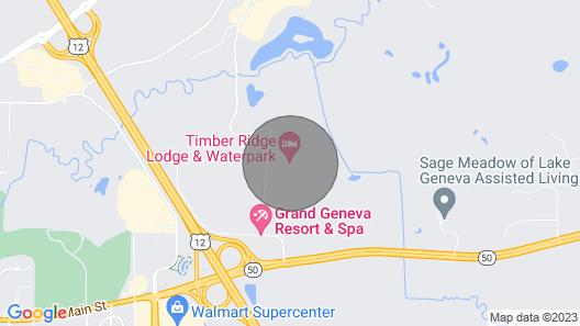Timber Ridge Lodge & Waterpark Map