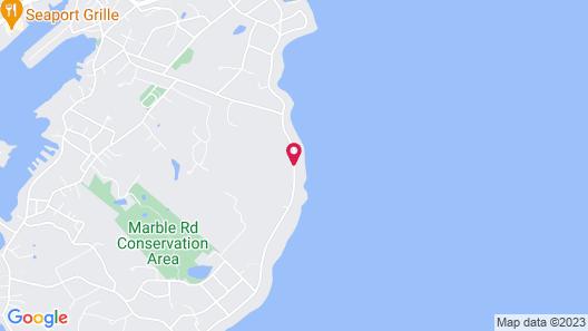 Ocean House Hotel at Bass Rocks Map