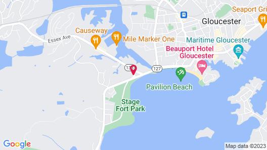 The Hydrangea Inn Map