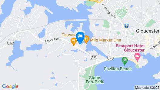 Cape Ann's Marina Resort Map