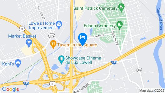 Sonesta Select Boston Lowell Map