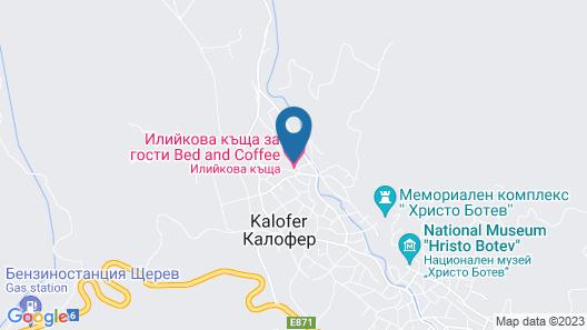 Iliikova House Map