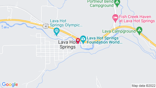 Home Hotel Lava Hot Springs Map