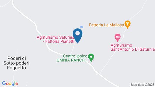 Fattoria Pianetti Map