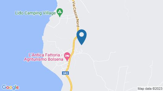 Agriturismo Parco di Canuleio Map