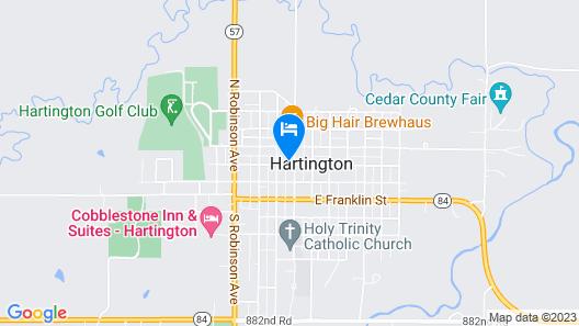 Hotel Hartington Map