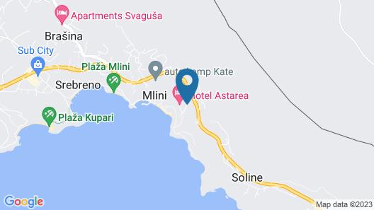 Hotel Astarea Map