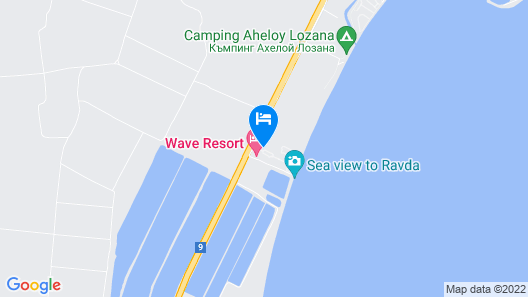 Wave Resort – Ultra All Inclusive Map