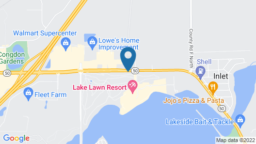 Lake Lawn Resort Map
