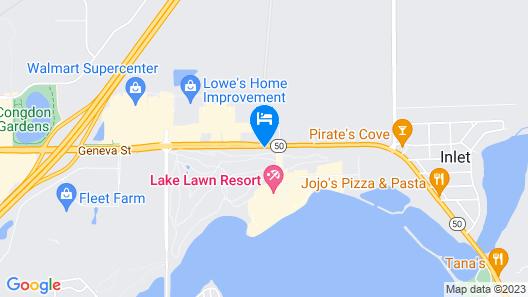 Lake Lawn Resort Map