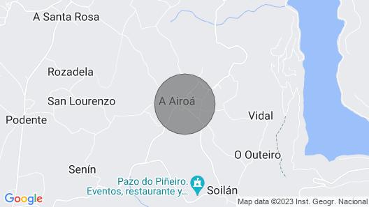 Casa das Xacias for 12 people Map