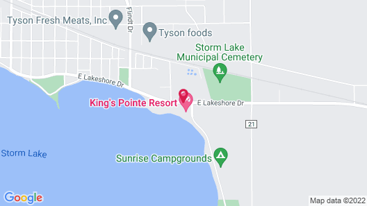 King's Pointe Waterpark Resort Map