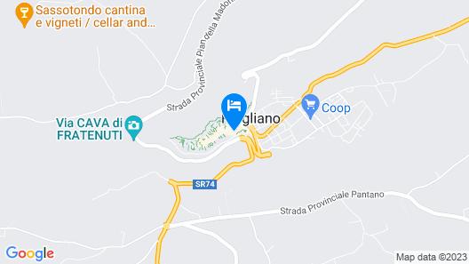 La Posta Regia Map
