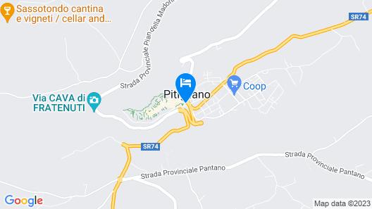 Albergo Guastini Map