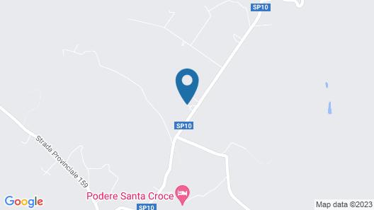Albergo Poggio Bertino Map