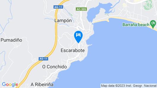 Hotel MS Boiro Map