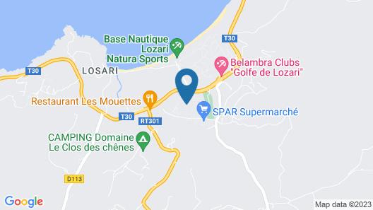 Le Bois de Capra Scorsa Map