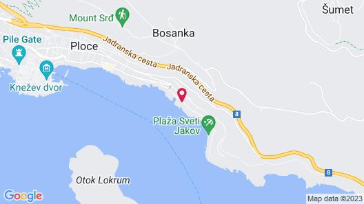 Villa Dubrovnik Map