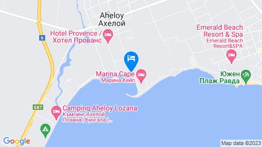 Menada Ravda Apartments Map