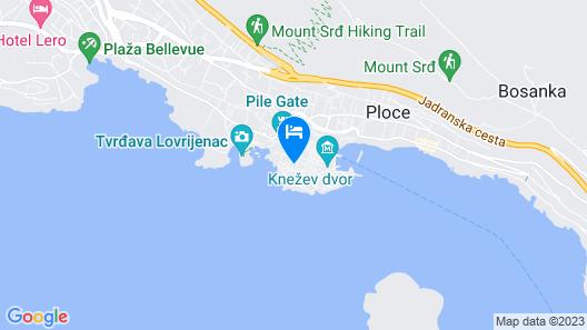 Celenga Apartments Map