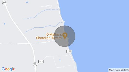 Cayuga Shoreline Map