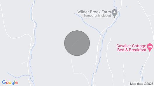 Luxury Modern Barn with mountain views Map