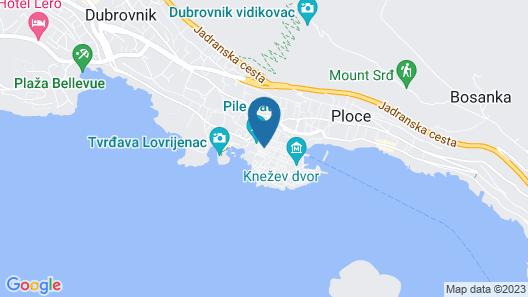 Dubrovnik Boutique Apartments Map