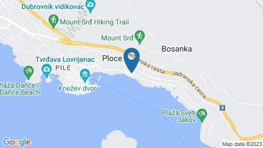 Villa Allure of Dubrovnik Map