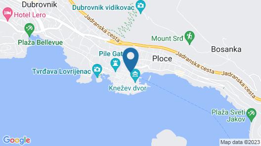 Soleil Luxury Rooms Old Town Dubrovnik Map