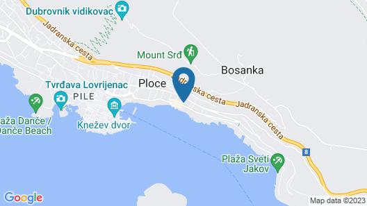 Dubrovnik Residence Map